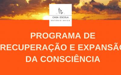 Programa de recuperação e expansão da consciência