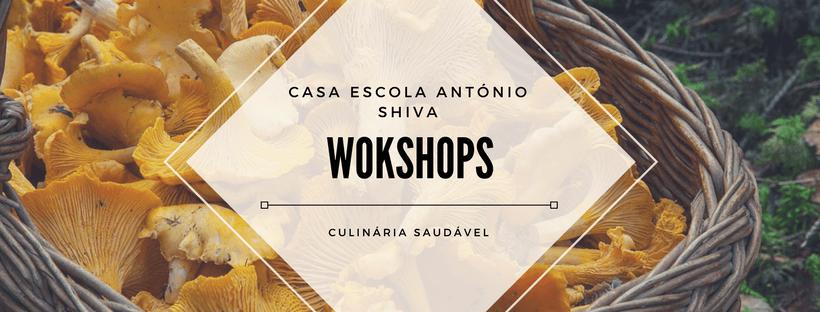 Workshops de culinária saudável