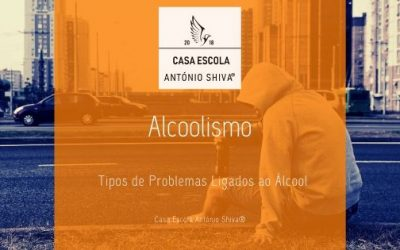 Tipos de Problemas Ligados ao Álcool